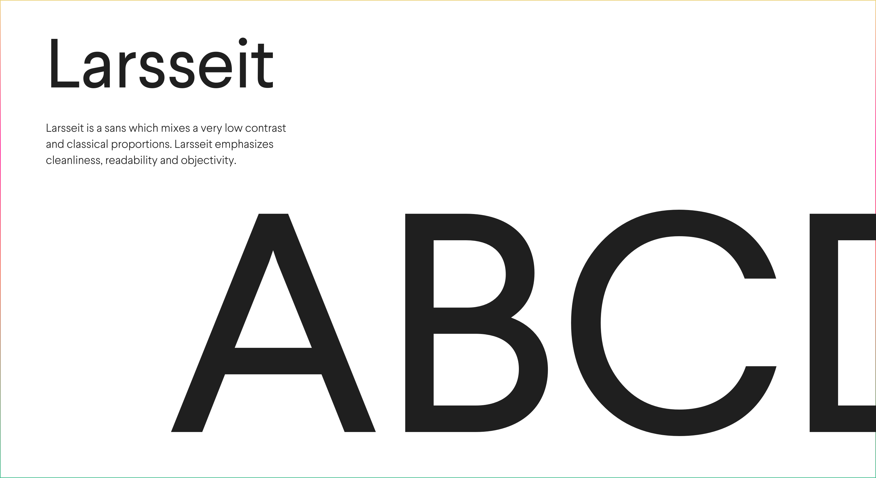 Larseitt_Font